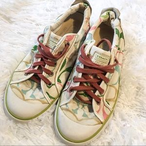 COACH AUTHENTIC LOGO SNEAKERS